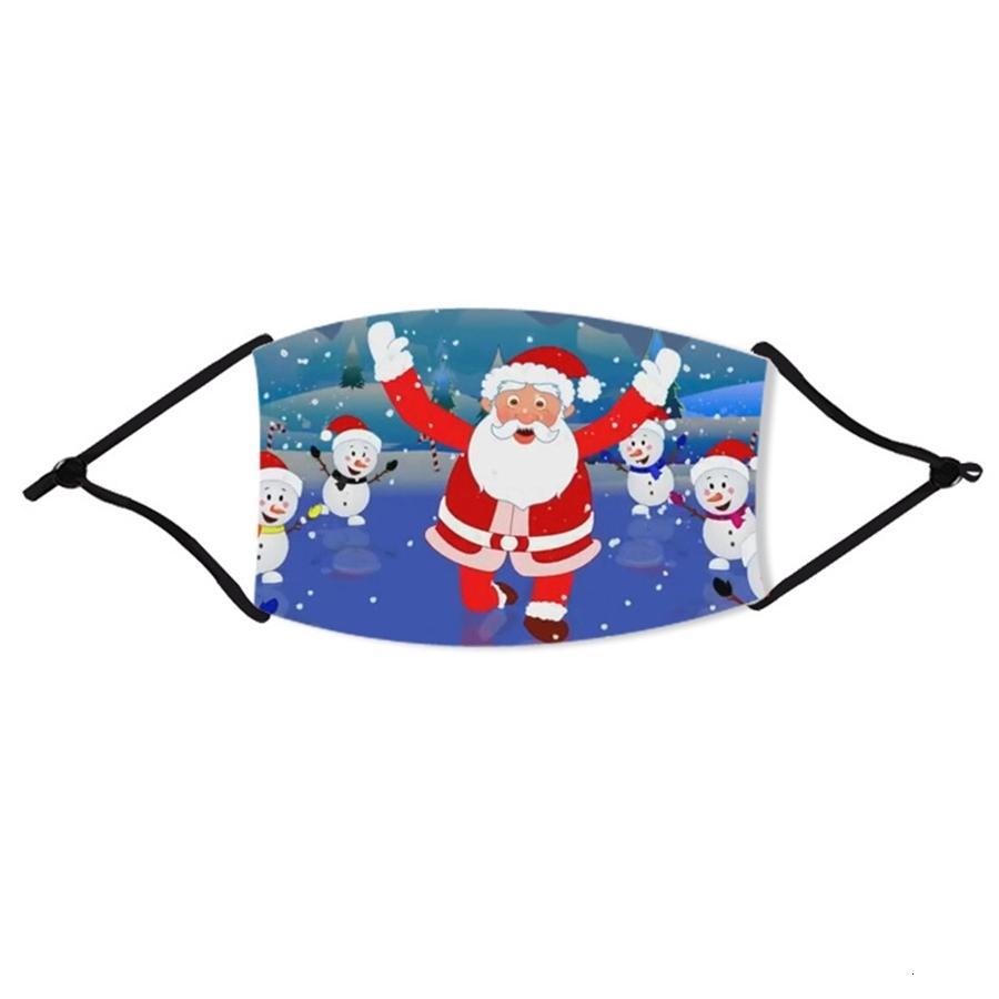 Бесплатная доставка против пыли Маски РМ2,5 Многоразовые хлопковые Активированный уголь Face Mask Filter Christmas пылезащитный