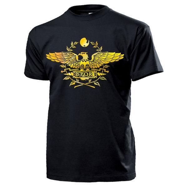 2019 hommes refroidissent T-shirt SPQR ROM Senatus Populusque Romanus Roman Hoheitszeichen Legion - T-shirt Ummer T-shirt