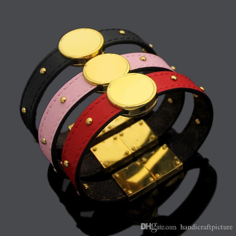 donne designer di gioielli di lusso braccialetto elegante bracciale Pearl vecchio braccialetto in pelle braccialetto stilista