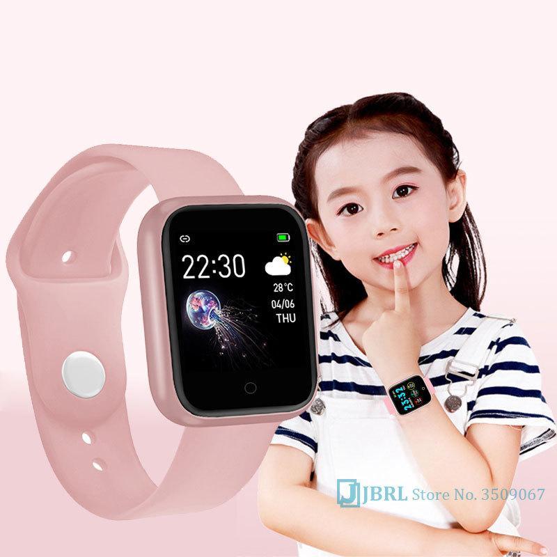 Bluetooth Спортивные часы Детские Детские часы для девочек мальчиков наручные часы Student часы Электронные светодиодные цифровые наручные часы для детей LJ200911