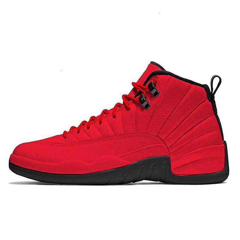 12s Men Basketball Shoes Trainers Reverse 12 Black Jumpman Dark Grey Flu Game Cny Taxi