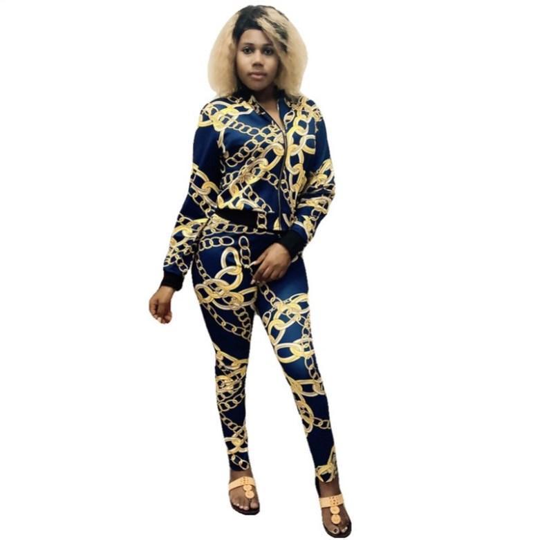 Sudadera con capucha para mujer Leggings Trajes de manga larga camisa de patas de patas Pantalones Traje de 2 piezas Conjunto Sweatshirt Sweatshirt Sexy Losse KLW4930