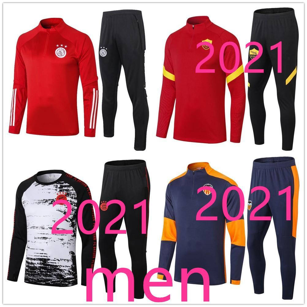 탑 성인 20 21 샹들리얼 스페인 벨기에 네덜란드 트랙 슈트 유니폼 재킷 2020 2021 망 축구 트랙 슈트 축구 훈련 정장 조깅