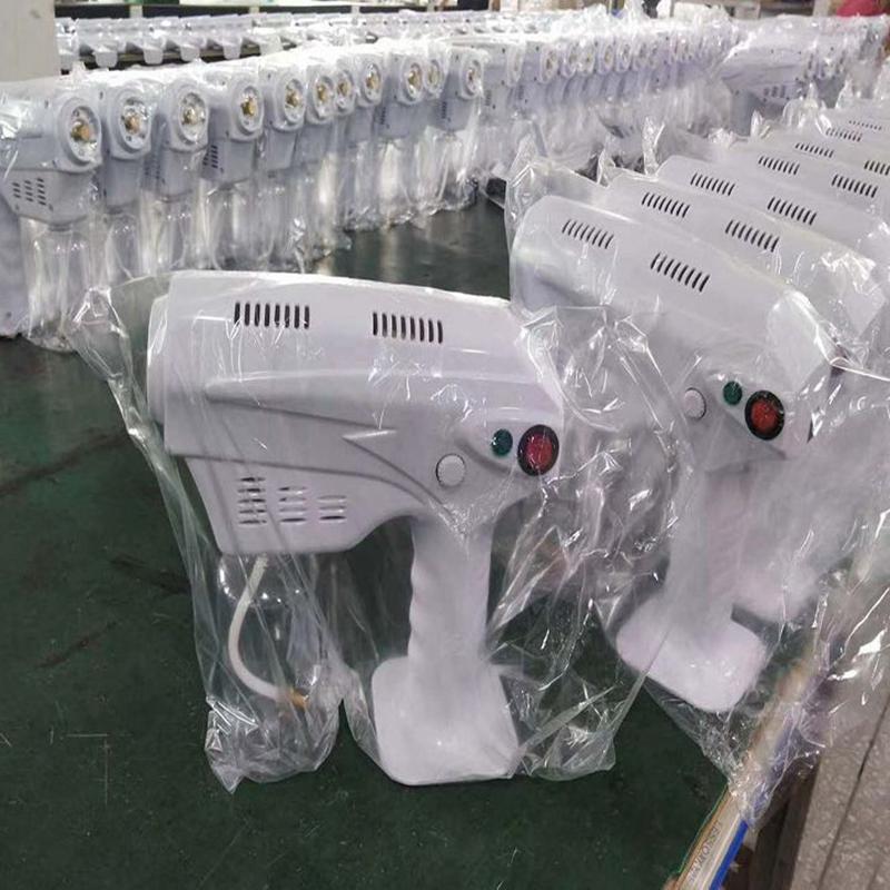 1300w Blaulicht Nano Dampf Atomisierende Fogger Desinfektion Sprayer Gun Nano Dampfpistole Spray Maschine LJJK2493