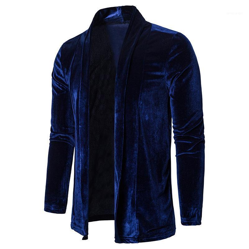 Sleeved Stehkragen Mäntel Herren Winterjacke Herren Designer Jacken Solid Color Herbst und Winter beiläufige lange