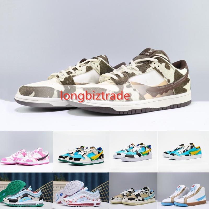 nave rápida SB Dunk zapatos para los hombres diseñadores zapatillas Dunk SB Mens 97 zapatos para correr Mujeres diseñadores sneakes