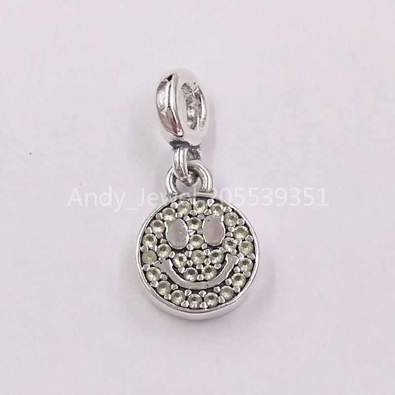 Autentiche perline in argento sterling 925 Il mio sorriso ciondolo fascino charms adatti ai braccialetti di gioielli in stile Pandora europeo collana 798395nly