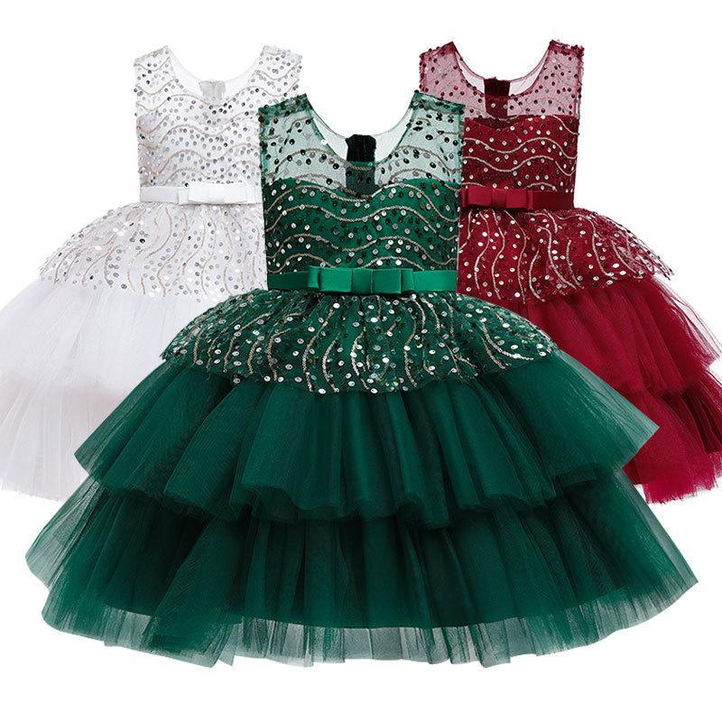 Filles événements hôtes de fête de l'école représentant des robes élégantes pour enfants formels adapté aux enfants âgés de 3-10 T200908