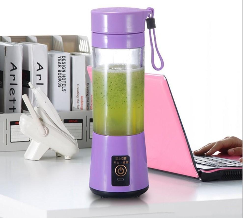 380ml Blender Pessoal Portátil Mini Blender USB Ferramentas Juicer Cup elétrica Juicer Garrafa fruto legume