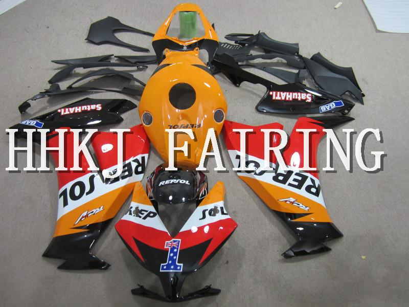 ABS Plastis Motorcycle Bodywork Fairing Kit Fit For CBR1000RR 2012 2013 2014 2015 2016 Injection Molding Moto Hull motor Fairing HHHCF064