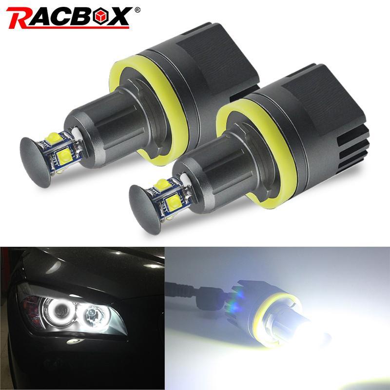 auto H8 Angel Eyes proiettori a LED Halo anello lampadine da 40W circuiti integrati di alta qualità 6500K bianco Per E92 M3 E93 328i 335i E60 528i 528xi