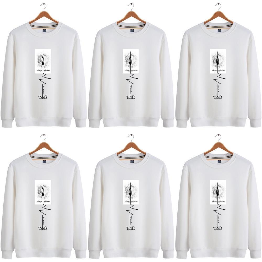2020 personalidad otoño e invierno nuevo PIN impreso superior juventud base camisa de moda ocasionales WY1645 Top SweaterPin suéter suéter para los hombres W3 w3ux6