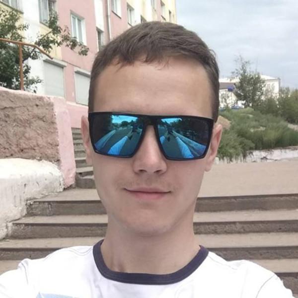 Marke Platz in Übergröße Retro Quadrat Sonnenbrille Steampunk Männer Frauen Marken-Designer-Glas-Farbton-UV-Schutz Gafas