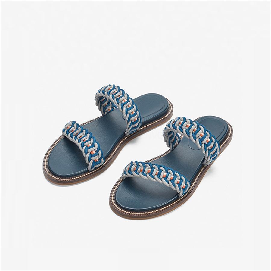 Tacchi Scarpe Donna Sandali HigQuality pantofole dei sandali Huaraches Infradito Mocassini scarpa per Pantofola Shoe04 PL0133 # 928