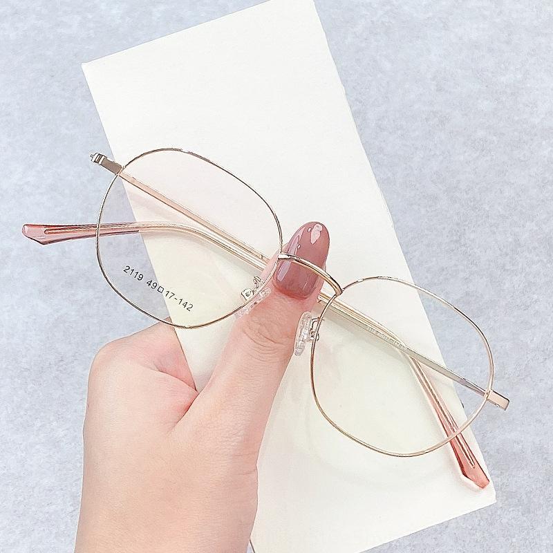 iUMqE 2020 nueva irregulares Lentes Glassesoptical con unisex llanura 2119 2020 nueva trama irregular marco de la miopía de los vidrios Glassesoptical con myo