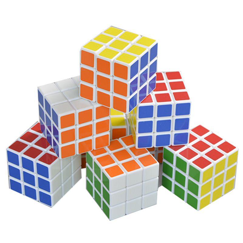 5.7cm Profissional Puzzle Cubo Cubos Mágicos Puzzles Jogo Fidget Brinquedo Crianças Inteligência Educacional Brinquedos