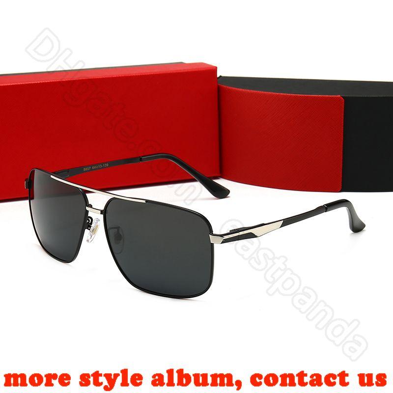 mens occhiali da sole signore di gatto dell'occhio di modo occhiali da sole rotondi atteggiamento rospo giro in bicicletta gli occhiali da sole per le donne con scatola A1B49