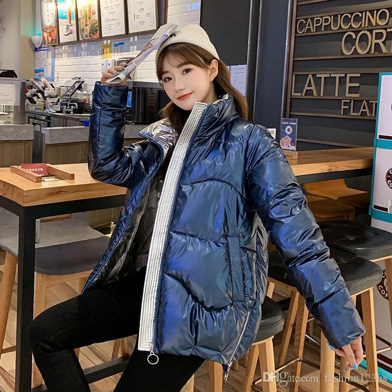 2020 Yeni Kore Stil Kış Ceket Yüksek Kalite Coat Kadınlar Moda Ceketler Kış Sıcak Kadın Giyim Casual Parkas Dames