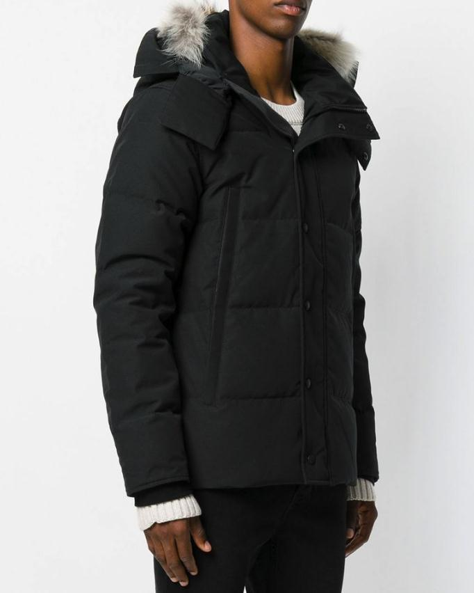 2018 Canadian Black Friday 12.12 Shopping Days Top Männer Daunen Parka Goose Schwarz Marine Rot Grün Winterjacke Arctic Mantel