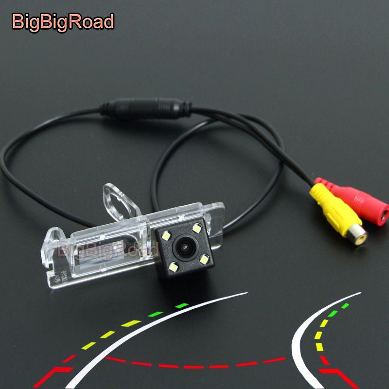 BigBigRoad Car Intelligent Dynamic Trajectoire Pistes caméra arrière pour Grand Scenic 3 III 2009 2010 2011 2012 -2020