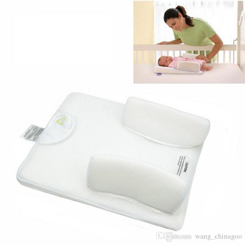 Baby Anti-Roll Pillow Infant Sleep Positioner 0-6months Newborn Sleeping Nursing Pillow Prevent Flat Head Cushion Sleep System