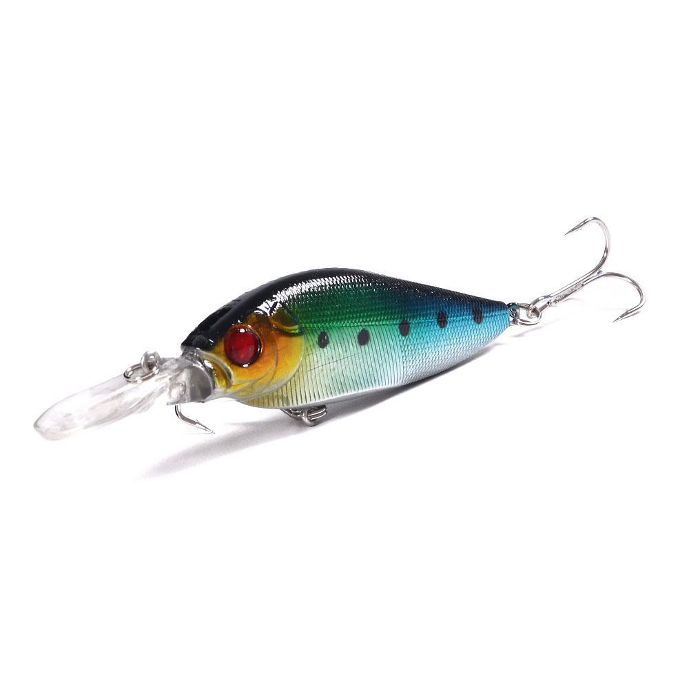 pesca 500pcs Minnow señuelos de 11 cm por 11,7 g de 4 # ganchos del cebo duro del palillo de cebo Sargo / trucha de calidad señuelo de pesca