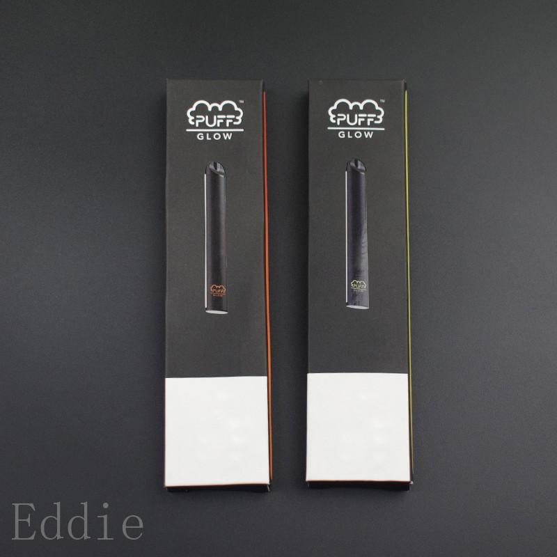 écoulement feuilletée feuilletée en gros dispositif jetable stylo vape lueur bar e cigarette pré rempli gousses vapen vape cartouches kit de démarrage