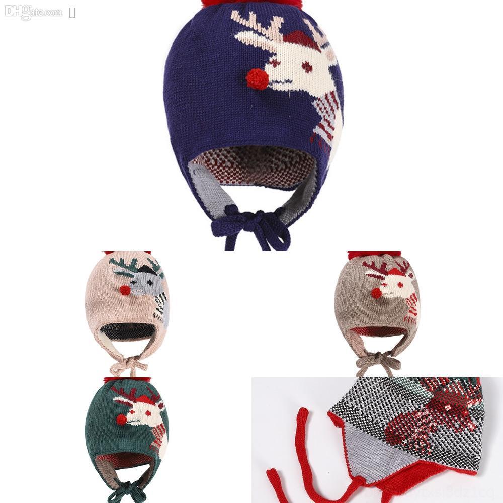 Yjgxj Christmas Hatsshipping Hand Woven Icelandic Wool Thick Yarn Hats Tailed Long Hat