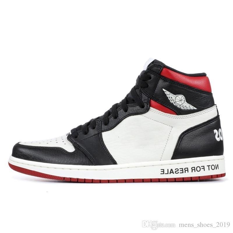 Basket-ball Non Mode 1s pour la revente 1 Chaussures Obsidian sans Peur Noir Toe Cour Ombre pourpre Unc Union Top Og Sport Sneakers Taille 7-12