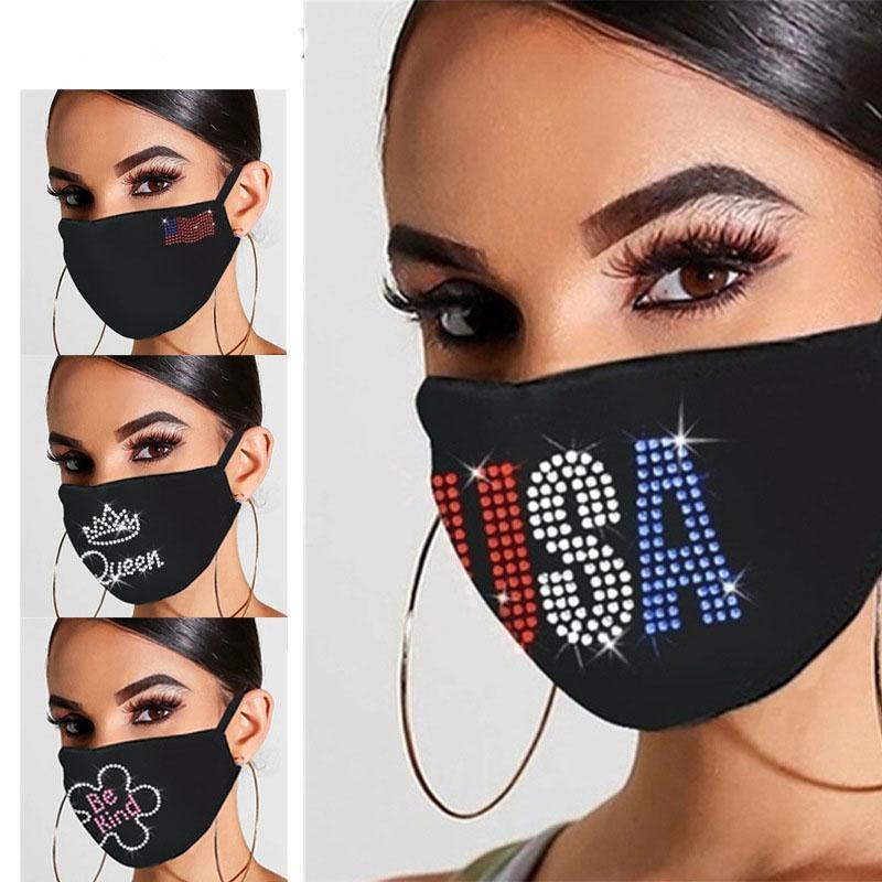 2020 Black Fashion Face Masks Designer Face Mask Adult