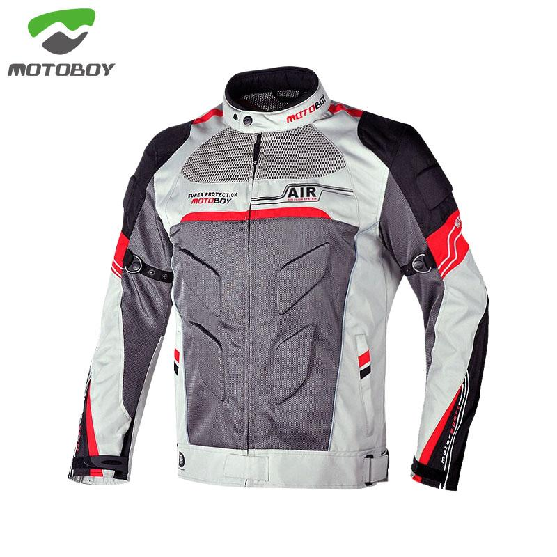 Motoboy Summer Air Mesh Motorcycle Bike suit Ventilation Protective jacket and pant protector