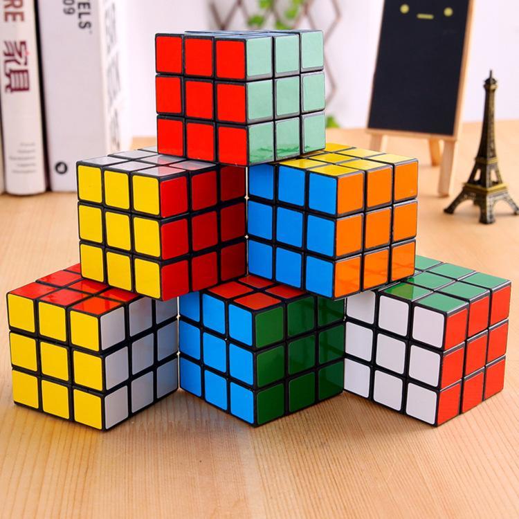 5.3cm 퍼즐 큐브 매직 루빅 게임 학습 교육 두뇌 스트롬 키즈 게임 감압 키즈 장난감 좋은 선물 장난감
