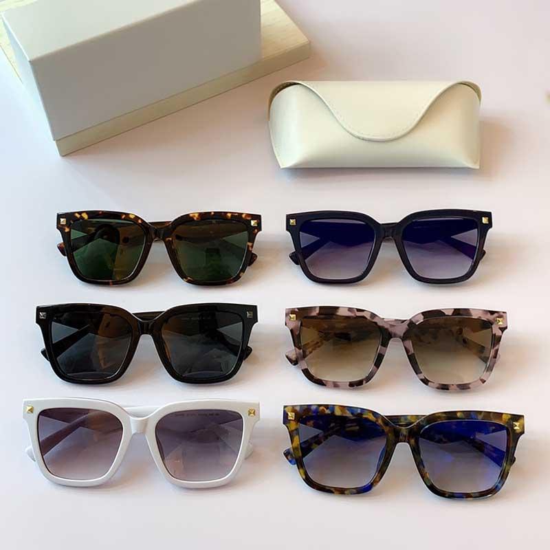 2020 Новая Личность Мода Солнцезащитные очки VA4084F Мода Стиль Дизайнер Солнцезащитные Очки Квадратная Рамка Дизайнер Полный Рамки Солнцезащитные Очки