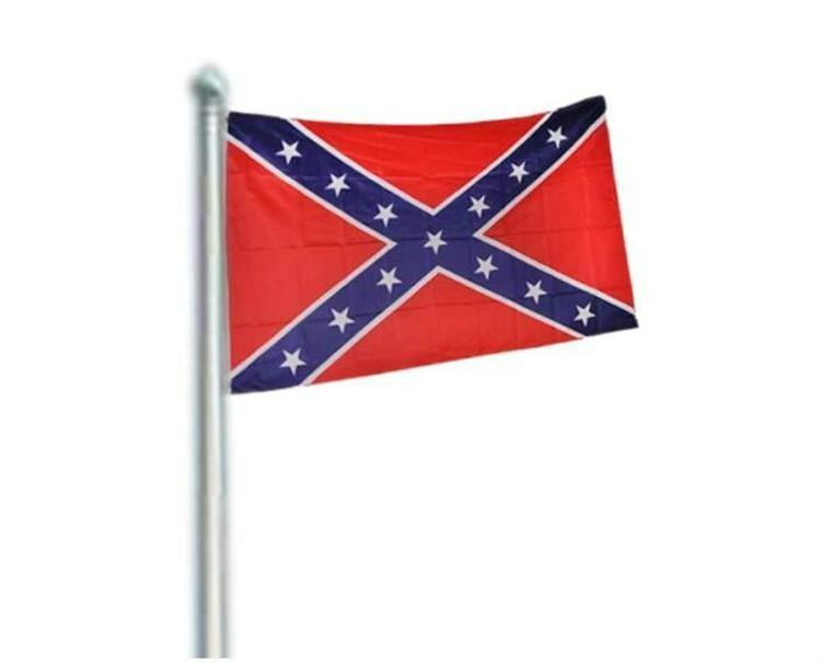2020 Konfederasyon Asi İç Savaşı Bayrağı Konfederasyon Bayrağı Konfederasyon Savaş Bayraklar İki Yüzü Baskılı Bayrak Ulusal Polyester Bayrakları 90x150cm