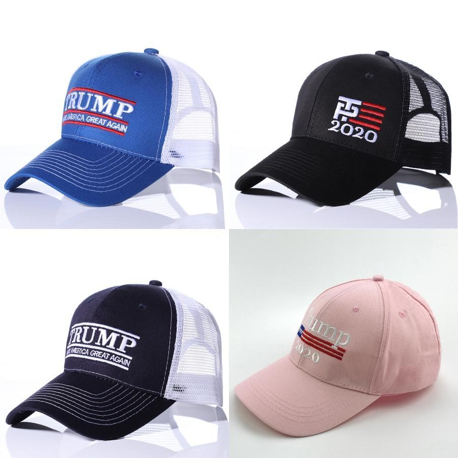 US-Wahl 2020 Trump Hat Camouflage Sport Baseballmütze Halten Sie Amerika Große Hüte Damen Herren Stickerei-Buchstabe Camo Snapback # 685