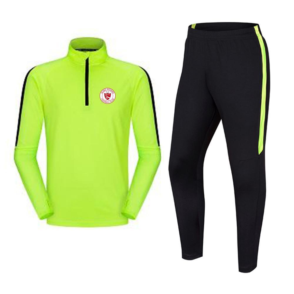 سليغو روفرز لكرة القدم للرجال لكرة القدم رياضية سترات التدريب أوقات الفراغ ارتداء ملابس الكبار للأطفال في الهواء الطلق ملابس رياضية الركض المشي لمسافات طويلة