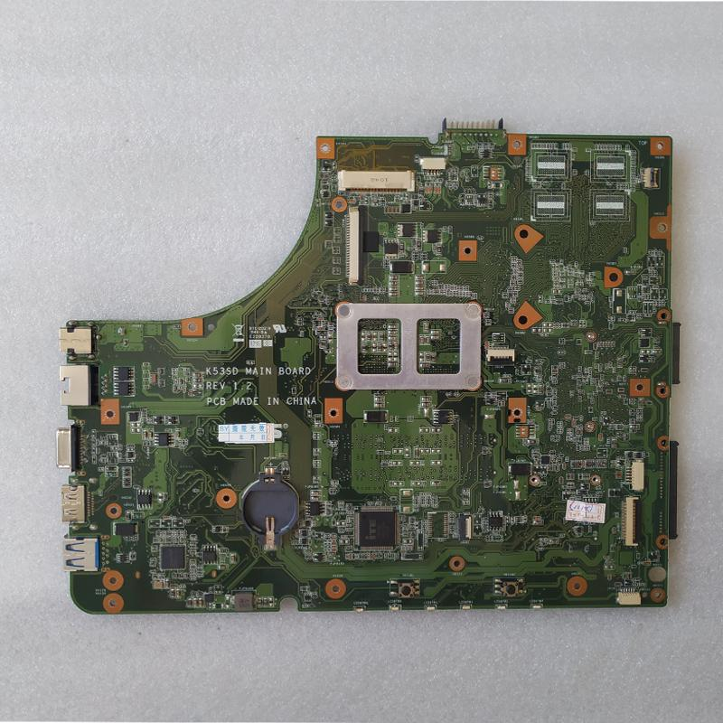 Free Shipping!! New Laptop motherboard For Asus K53E K53SD K53 Rev 1.2