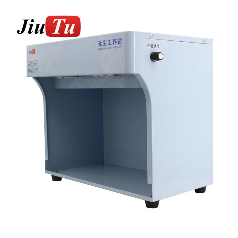 Jiutu Nueva sala de limpieza de polvo Laminar Flow Cap Hood Uso para la reparación LCD Limpiar el trabajo