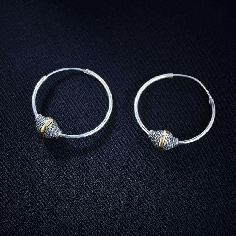 WDMxy Taiketai prata redondo pequeno 925 jóias e ornamentos de prata Taiketai das mulheres pequenas ornamento redondos 925 earringsearrings Jóias e e