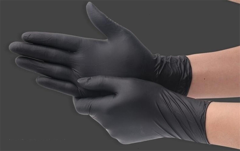 Gomma V Ammex Sgs talco nitrile Mma durevole Glove Guanti per MD Emd Er Lab1