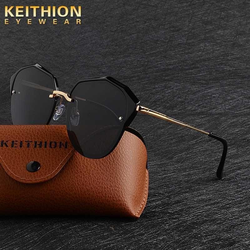 Gafas degradados Vintage Extremo Sol Gafas de sol Mujeres Diseñador Keithion Ojo para mujer Para Mujeres UV400 Cat Shades FEMA TXKKH