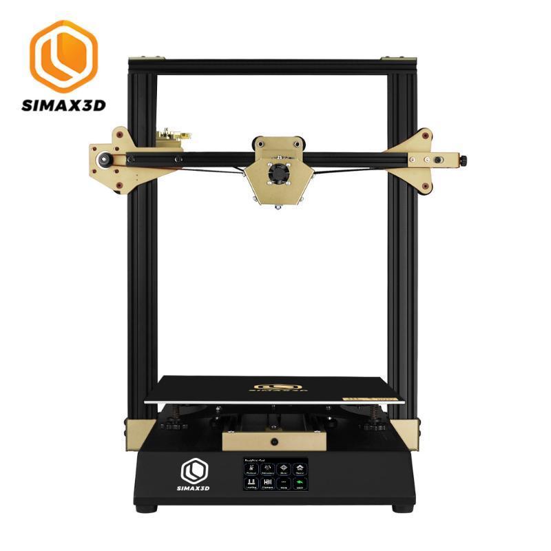 3.5 '' Renk Dokunmatik Ekran Özgeçmiş Baskı 490 * 480 * 640mm ile SIMAX3D-X1 3D Yazıcı DIY Takımı Yüksek Hassas FDM Hotend 3D Yazıcı