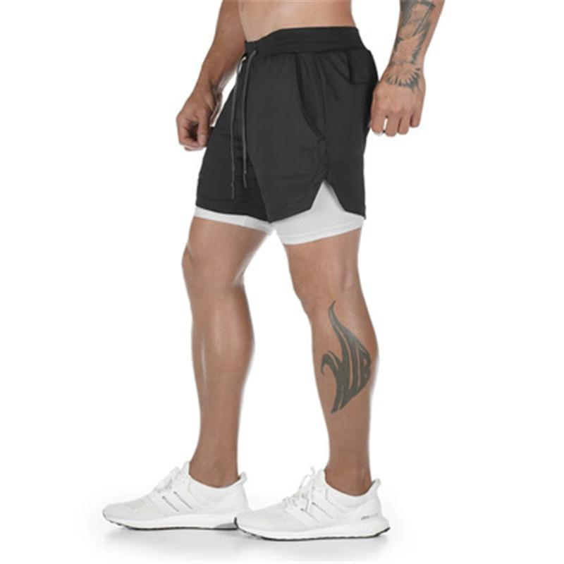 Summer Casual Shorts Men Slim Short Fitness Quick-Drying Pants for Running sports Training