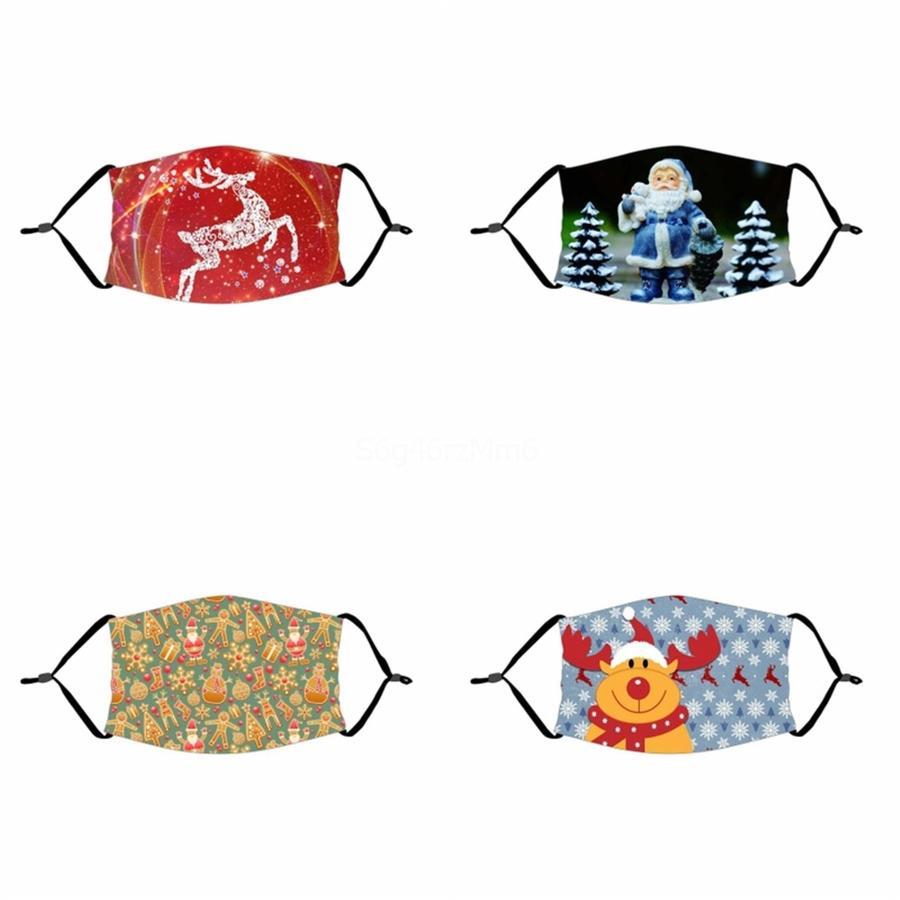 Los patrones geométricos con estilo mujeres de los hombres y las máscaras de impresión Carta-Máscaras tendencia del polvo UV Prection suave se puede lavar Máscaras transpirables # 140