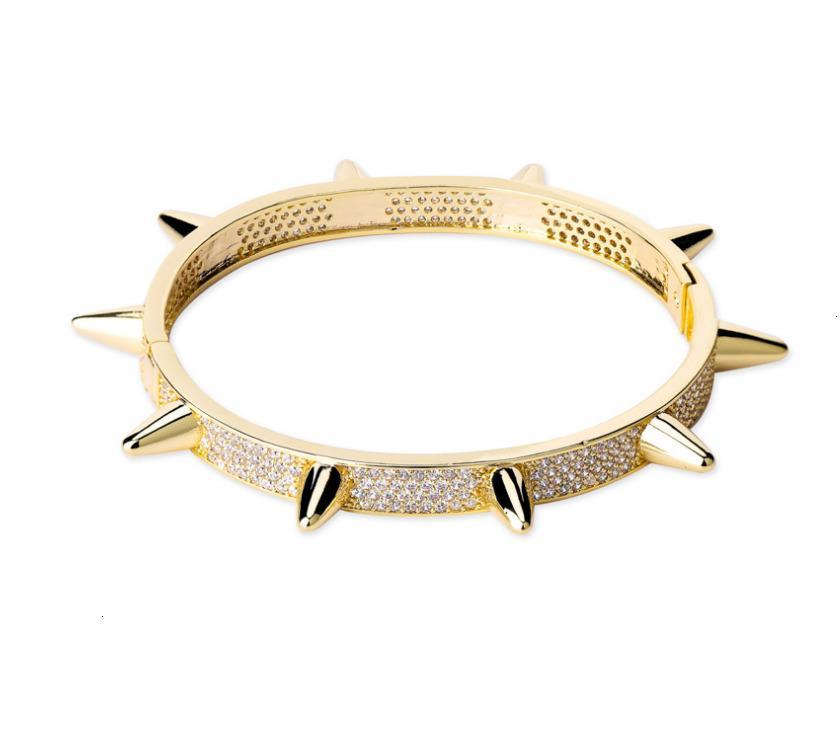 2020 stil 18k altın kaplama bilezik olağanüstü unisex Moda bileziği