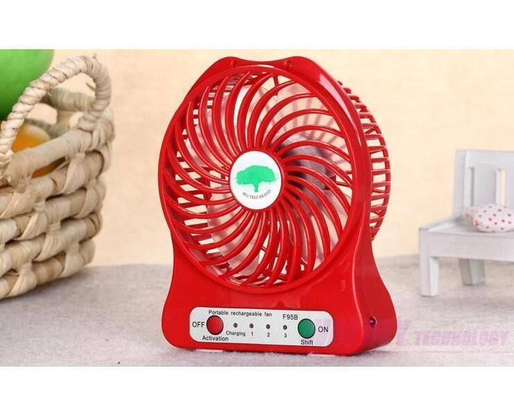 500pcs / комплект микро USB мода Fan Mini Electric Личные вентиляторы LED Портативная аккумуляторная батарея для рабочего Cooling Управляется