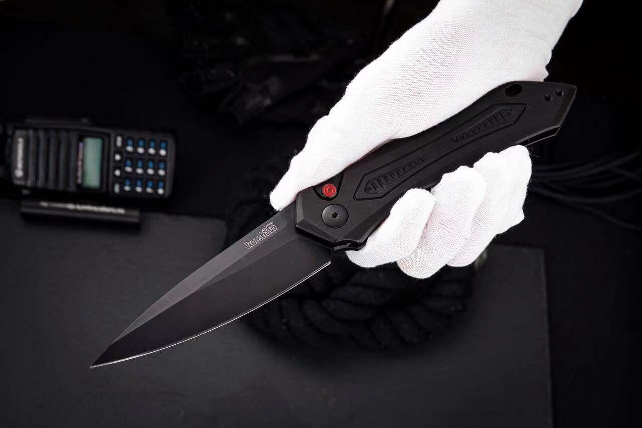 OEM Kershaw 7800 lama tattica automatico CPM154 lama in alluminio anodizzato campeggio esterna di sopravvivenza Auto Best coltello