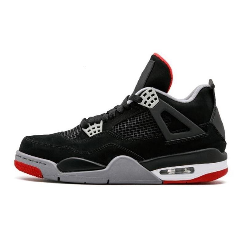 4s Bred Jack White Cement The New Cactus IV Cosa Cool Grey Mens scarpe da basket FIBA 4 UNC uomini di sport scarpe da tennis con la scatola