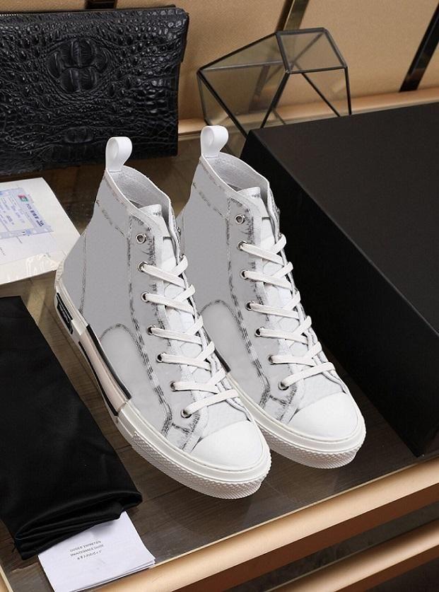 21FW Наклонные Высокие низкие Кроссовки Старинные Платформа Уголовки Техническая Кожаная Мужская Обувь Женская Мода Тренажеры 35-45