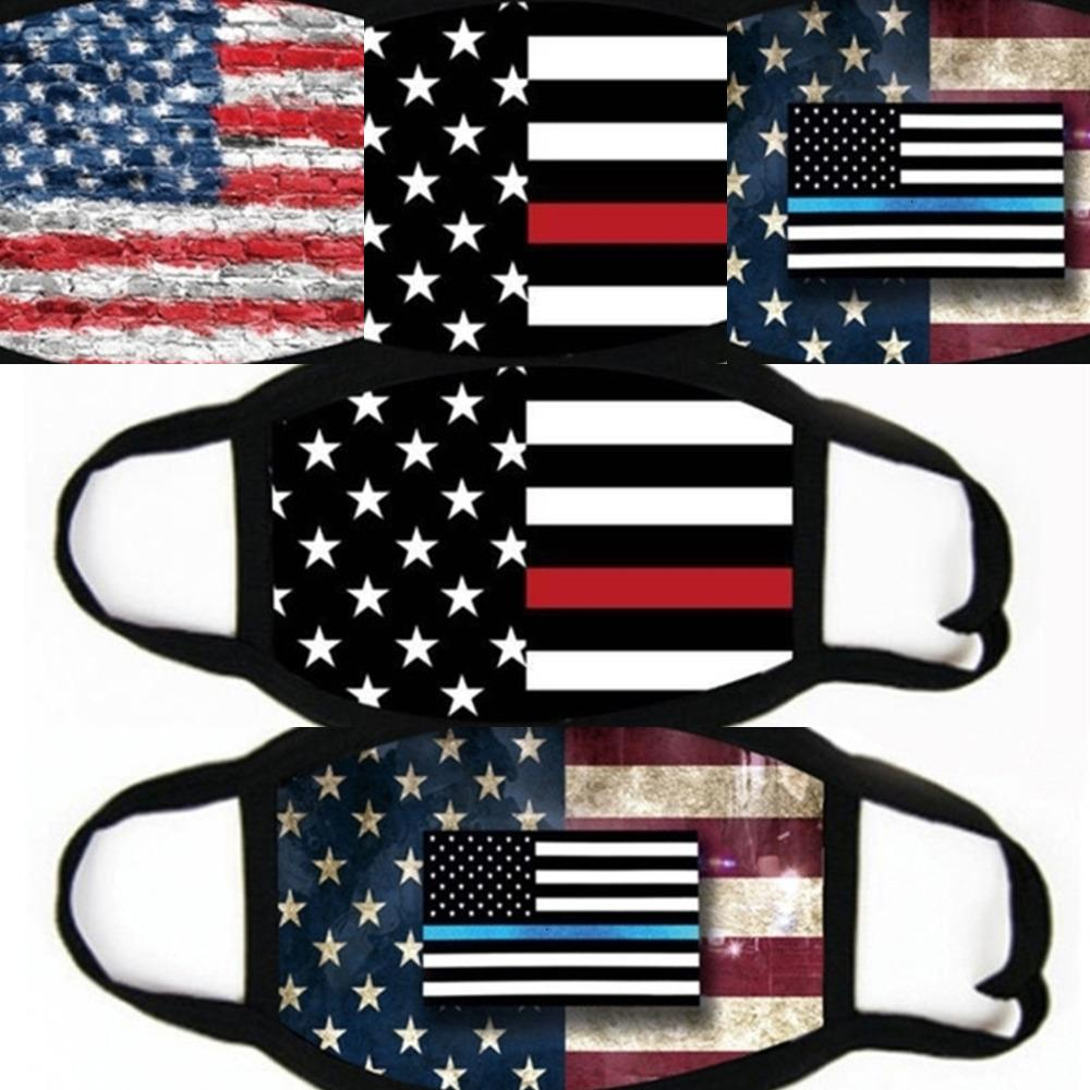 Erkekler ve Kadınlar Amerikan Bayrak almaya Baskı Maske Universal toz korumalı Seçim 2020 Sıcak Yüz Maskeleri Malzemeleri # 714 Maske